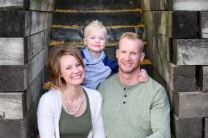 family photo Mitch